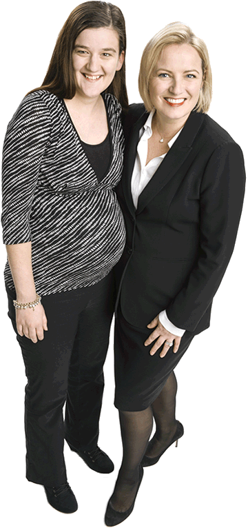 Hope and Eimear - Baggiolegal - Commercial, taxation and private client law - Lawyer - Adelaide, South Australia
